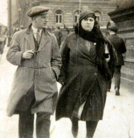 Helen Duncan con su marido